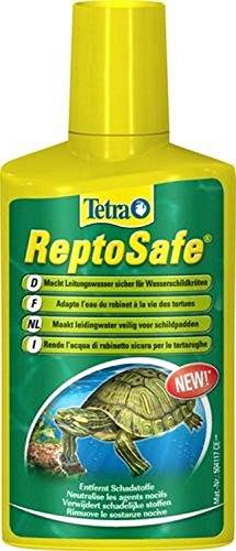 Tetra ReptoSafe 250 ml - Neutraliza los componentes nocivos y garantiza que el agua del grifo sea segura para los reptiles acuáticos, tales como tortugas y anfibios