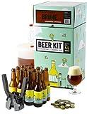 HOPT Bierbrauset zum Selber brauen | Dunkles Bier brauen | Geschenk fr Mnner | Bier selber BeerKit