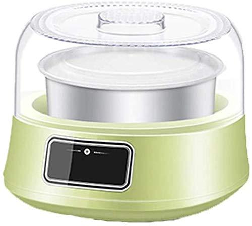 ZXL Joghurtbereiter,Joghurtmaschine nach Hause, vollautomatische kleine hausgemachte Multifunktions-Minitassen-Fermentationsmaschine (Stil: Edelstahl)