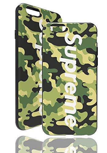 SUP Camo Case [ Compatible con Apple iPhone 6, Verde ] Bolsa de diseño de Camuflaje Supreme a Juego - Cubierta a Prueba de Golpes - Militar - Superficie táctil 3D - Protectora