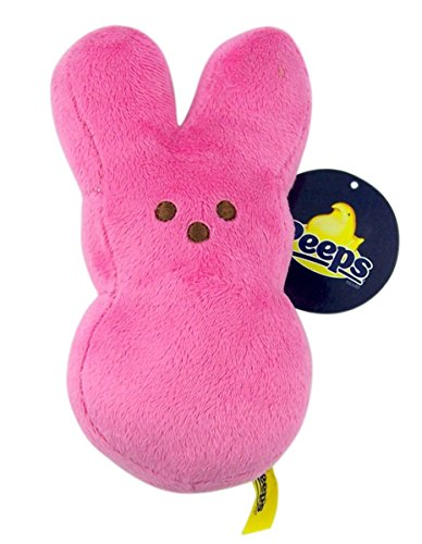 "Peeps Plush Bunny - 6"" Pink"