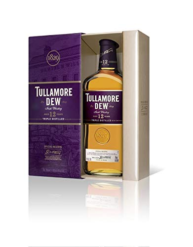 Tullamore Dew Whisky 12 años, 700 ml