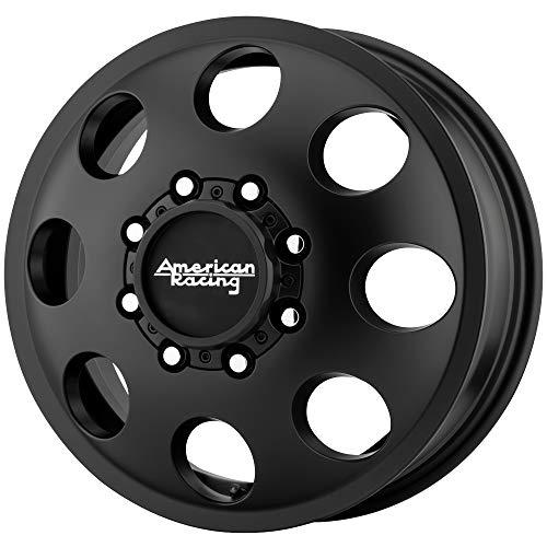 "American Racing AR204 Baja Dually Front 16x6 8x6.5"" Black Wheel Rim 16"" Inch"