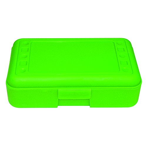 Romanoff Products Pencil Box, Lime Opaque