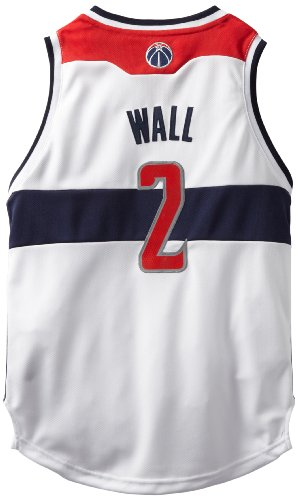 NBA Washington Wizards John Wall Youth 8-20 Swingman Home Jersey, Medium, White