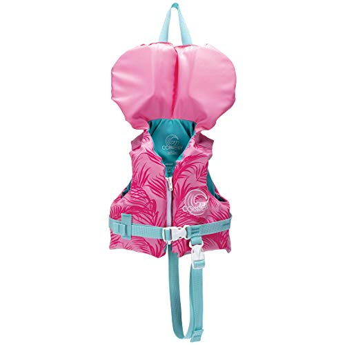 Connelly Infant Child Youth Nylon Baby Water Boating Lake Pool Swimming Safety Life Vest Jacket, Pink