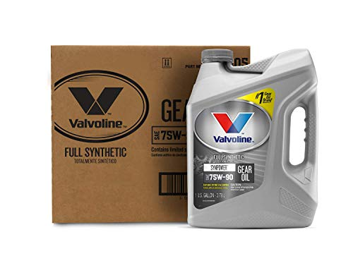 Valvoline SynPower SAE 75W-90 Full Synthetic Gear Oil 1 GA, Case of 3