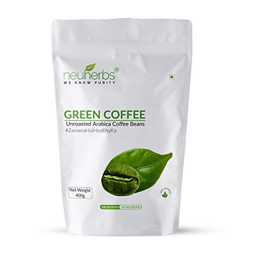 Neuherbs Green Coffee Beans Your Natural Immunity Booster and Weight Loss Partner: 400 G