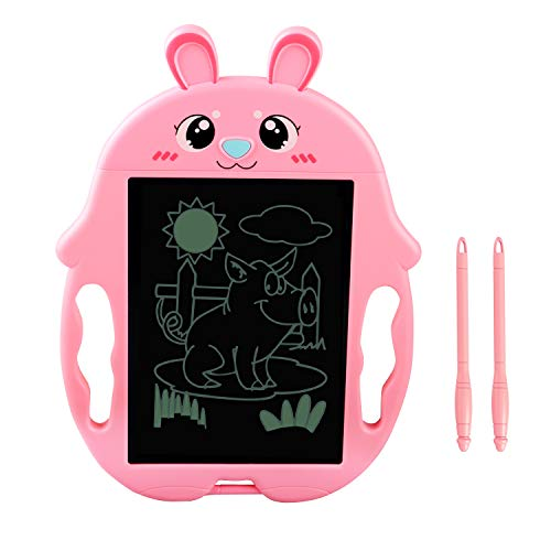 SLHFPX 2-9 Years Old Girls Gift, LCD Writing Tablet Boogie Doodle Board for Kids Birthday Presents for 2-10 Years Old Girls Best Toy for 3-6 Years Old Girls Toys Age 3-10 2019 New Toys for Kids Pink