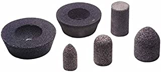 2 Thick 6 Dia 24 Grit Aluminum Oxide 14 Pack Resin Cup Wheel for Ferrous Metal