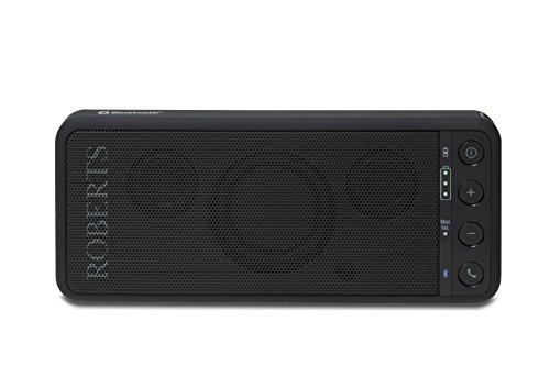Roberts Radio TravelPad tragbarer Bluetooth Lautsprecher mit integriertem Akku schwarz