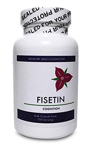 Fisetin Plus - Fisetin - 235mg of Fisetin per Serving/Highest Concentration/Also with Fustin and Protocatechuic Acid to optimize Fisetin Function.