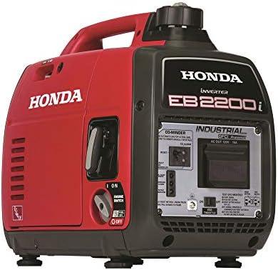 Honda 663530 EU2200i 120V 2200 Watt 0 95 Gallon Companion Portable Inverter Generator with Co product image
