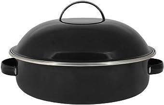 Fritadeira 26 Esmaltada Preta - 4000 ml - Ewel 292010