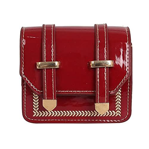 Damen Umhängetaschen Pailletten Kleine Quadratische Tasche Mode Wilde Kette Schräge Tasche Mini Kleine Tasche-3