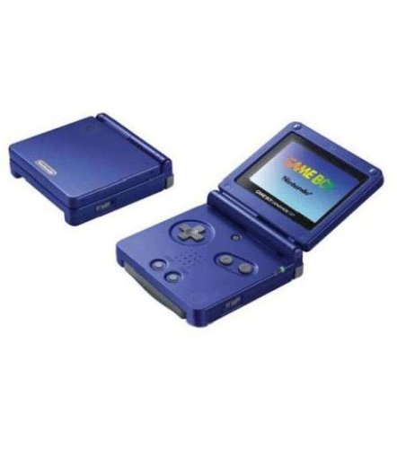GameBoy Advance SP Konsole blue
