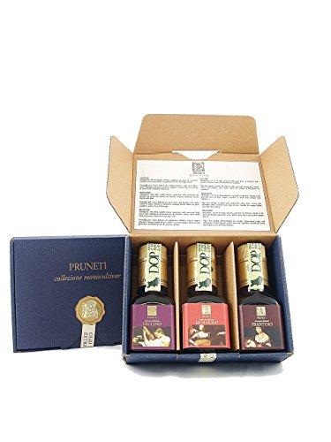 Collezione olio Monocultivar - Pruneti - Toscana - Scatola in cartone - x 100 ML - - BIO,DOP
