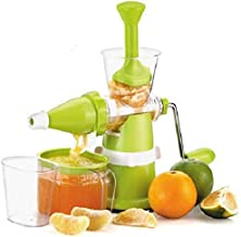 Qualimate Modern Juicer Hand Machine for Fruit and Vegetable with Steel Handle