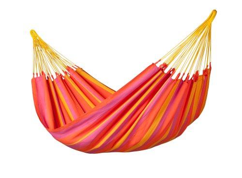 LA SIESTA Sonrisa Mandarine - Hamac classique simple outdoor
