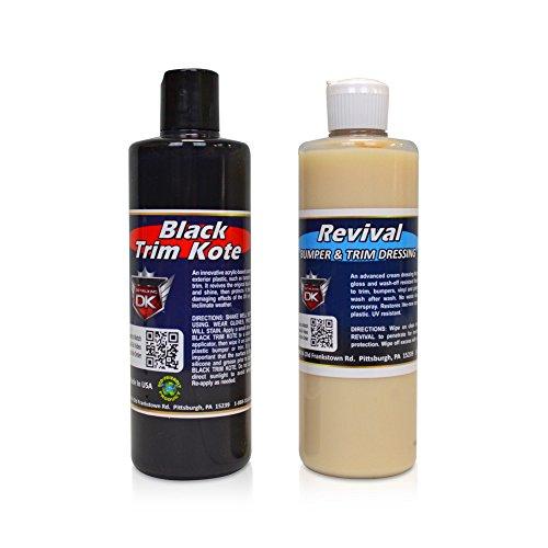 Detail King Trim Kote & Revival Value Kit- Black