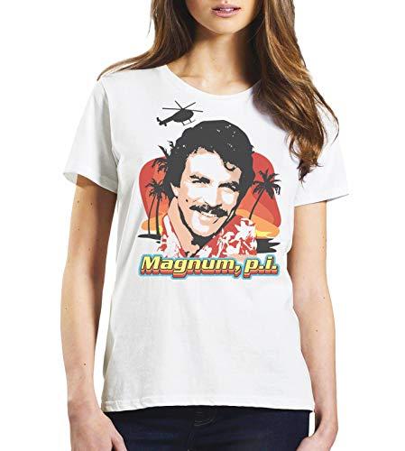 Ladies Magnum P.I. Tom Selleck T-shirt, boyfriend fit, XS to XXL