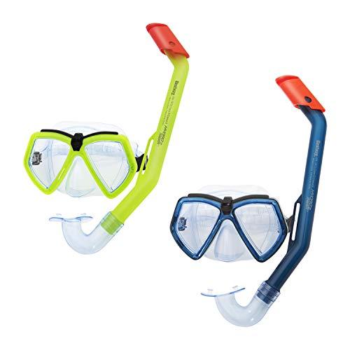 Bestway Hydro-Swim Schnorchel-Set, für Kinder Ever Sea, Sortiert Juego de esnórquel, Color (24027)