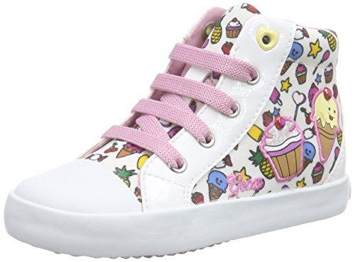 Geox - B Kilwi Girl - Chaussures Bébé marche bébé - Fille - Multicolore (C0653) - 22 EU