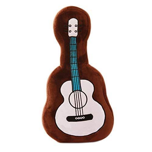 iSunday 45cm Gitarre Plüsch Spielzeug Simulation Gitarre Weich Kissen für Kinder Heim Docoration - Braun