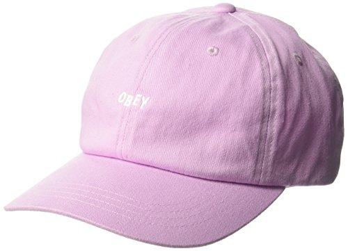 Obey Herren Jumble BAR III 6 Panel HAT Baseball Cap, Pale Purple, Einheitsgröße