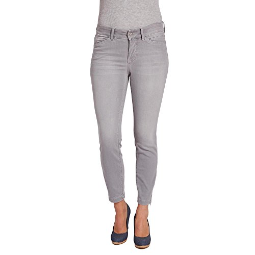 MAC JEANS Damen DREAM CHIC Jeans, Grau (Light Grey Used Wash D322), 36W x 32L