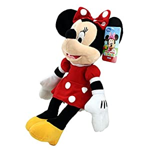 "Disney Mickey Mouse Clubhouse Plush 17"" Minnie Red Dress 8"