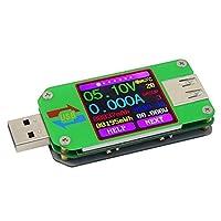 USB電圧テスター、UM24 UM24C APP USB 2.0LCDモニター USB電圧テスターUSBデジタル電流および電圧テスターユニバーサルテスター (Size : UM24)