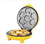 NOSSON Gâteau Pop Maker Cuisson Machine Automatique Double Sided Chauffage Cuisson Mini Cupcake Maker Machine...