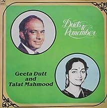 Talat Mahmood and Geeta Dutt - Duets To Remember - PMLP 1060
