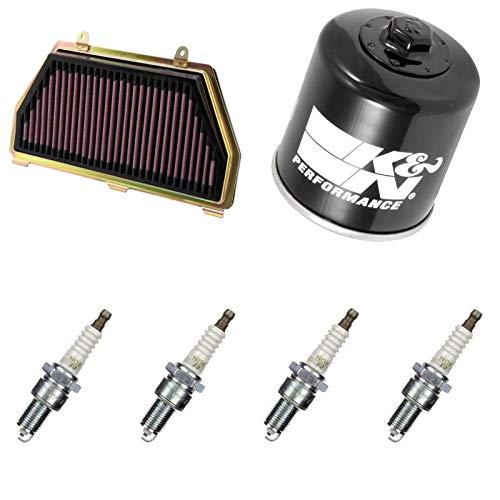 K&N NGK - Filtro de aire para bujía CBR 600 RR 2007-2008