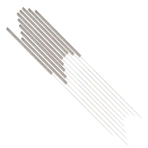Redxiao 【𝐒𝐩𝐫𝐢𝐧𝐠 𝐒𝐚𝐥𝐞 𝐆𝐢𝐟𝐭】 Stainless Steel 3D Printer Accessories, 10pcs Cleaning Needle Set and Copper Multiple Use General Maintenance for 3D Printer Cleaning