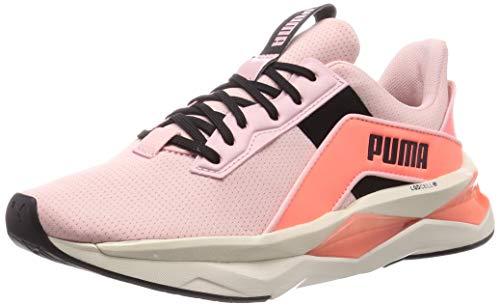 PUMA Damen Lqdcell Shatter Xt Geo Pearl W Gymnastikschuh, Peachskin-NRGY Peach Black, 36 EU