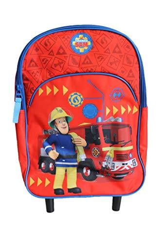 Sam Le Pompier Brandweerman Trolley rugzak voor kinderen