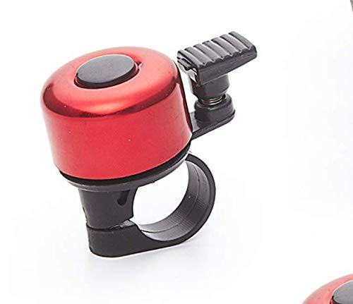 Timbre de la bicicleta/bicicleta de monta?a aleación de aluminio campana de color/campana peque?a/accesorios para equipos de ciclismo