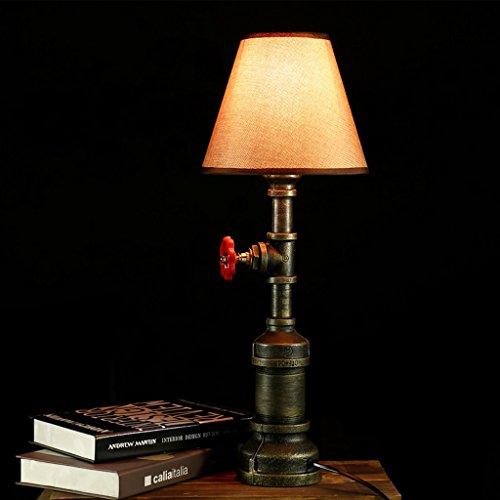 Amos Creativo LED Retro Bar Industrial Feng Shui lámpara Estudio Cama Ropa de Cama