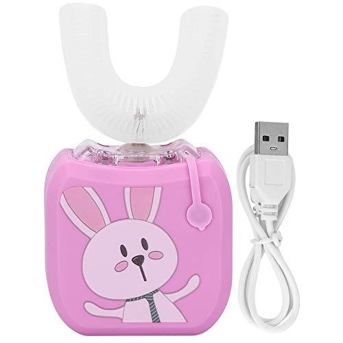 BigBig Style Cepillo de dientes eléctrico para niños, en forma de U,...