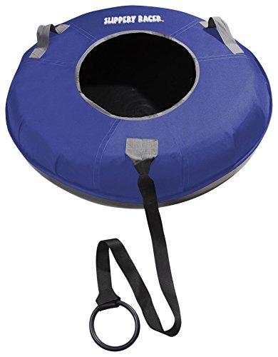 Slippery Racer Grande XL Commercial Inflatable Snow Tube Sled - Black