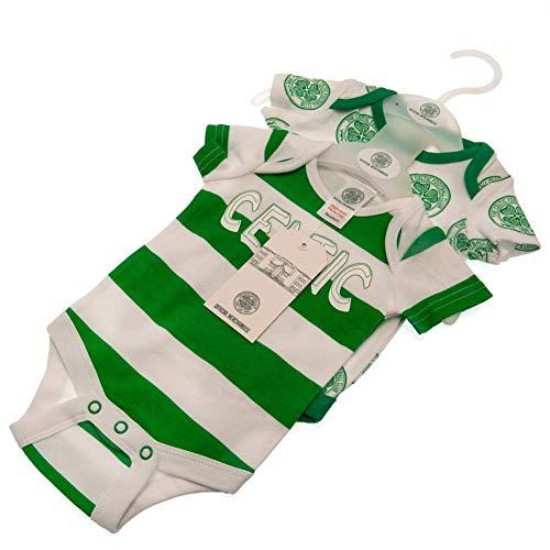 Juego de pijama oficial de Celtic FC para bebé, 2 unidades