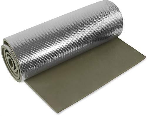 normani 1, 2, 3 oder 5 Ultraleichte Isomatten mit Aluminiumbeschichtung/Alu-Thermomatte Isomatte Farbe Oliv