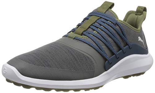 PUMA Herren Ignite Nxt Solelace Sneaker, Grau (Quiet Shade-Metallic Silver-Dark Denim), 39 EU