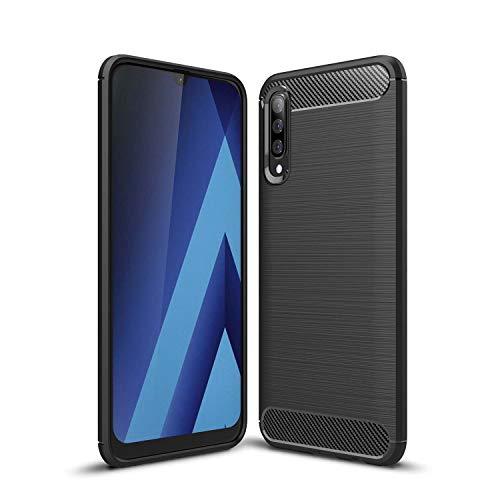Boleyi Case voor Samsung Galaxy A70s, Ultradun zachte siliconen beschermhoes, valbescherming, krasbestendig, silicone TPU Case Cover voor Samsung Galaxy A70s -