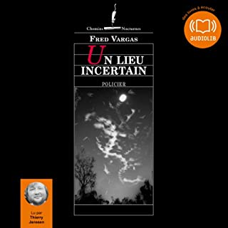 Un lieu incertain audiobook cover art
