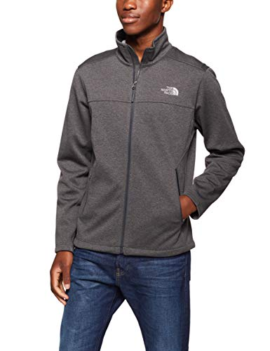 The North Face Men's Apex Canyonwall Jacket - TNF Dark Grey Heather & TNF Dark Grey Heather - M