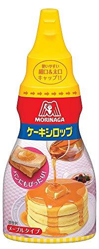 森永製菓 ケーキシロップ <メープルタイプ> 200g×5本
