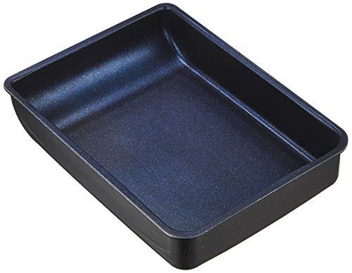 パール金属 卵焼き器 IH対応 13×18cm ブラック ブルーダイヤモンドコート AZ-5564